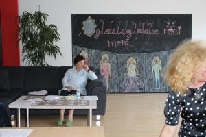 Savjetnica Miljenka Galić pozorno prati radionicu